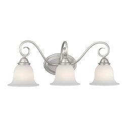 Vaxcel - Vaxcel Picasso 3L Vanity Light - Picasso 3L Vanity Light Brushed Nickel