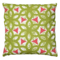 """Rizzy - Rizzy T06081 Pillow, 18"""" x 18"""" - Pillow with Hidden Zipper"""