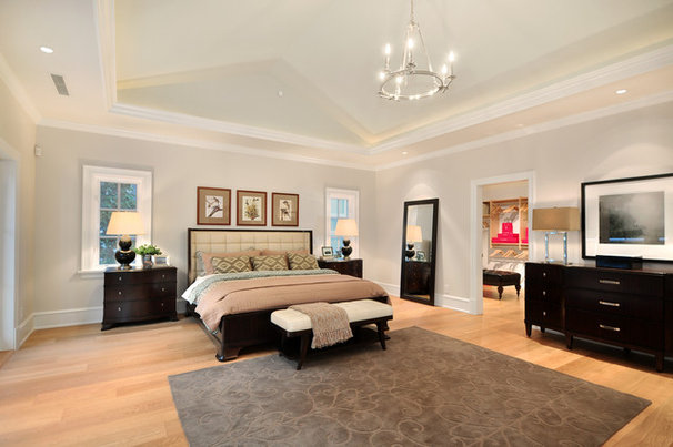 Traditional Bedroom by John Henshaw Architect Inc.