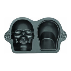 Wilton Dimensions Nonstick 3D Skull Pan - I've seen quite a few impressive cakes made from this skull mold. The teeth have great detail, and just imagine the faces people would make when you slice into this one.