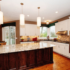 Traditional Kitchen by Michael Lee, Inc
