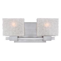 Quoizel Lighting - Melody Bath Fixture - Bath fixture 2 lgt Brushed Nickel