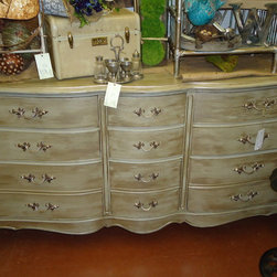 The White Barn booth - French Provincial Dresser/Buffet      photo-Mary Hogland