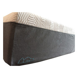 """Bear Mattress, LLC - Bear Mattress, Model P - The perfect blend of supportive memory foam and latex, Bear delivers exceptional comfort with premium pressure relief. Bear is that """"just-right"""" feel you want plus the added benefits of proper spinal alignment, no motion disturbances and the relief from painful pressure points that you need."""