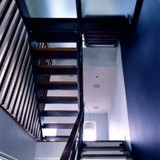 Contemporary Staircase by CWB Architects