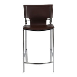 Euro Style - Euro Style Vinnie-C Counter Chair (Pack of 2) X-NRB31271 - Euro Style Vinnie-C Counter Chair (Pack of 2) X-NRB31271