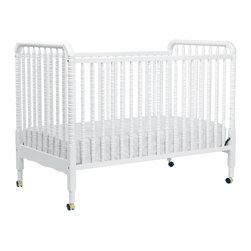 DaVinci - DaVinci Jenny Lind 3-in-1 Convertible Crib - The Jenny Lind crib is a classic, so it pairs well with almost everything. I like white cribs because they are fresh and provide a good contrast against bright wall colors.