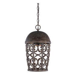 Designers Fountain - Designers Fountain 97594 Single Light Down Lighting Outdoor Pendant Dar - Features: