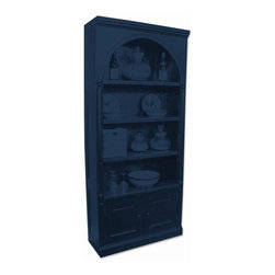 Trade Winds - New Trade Winds Bookcase Blue Painted - Product Details