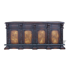 Buffets and Sideboards - This intricate and ornate piece was beautifully hand crafted and hand painted by skilled artists and craftsmen. It is also available in a variety of finishes so it may be that piece you're looking for to create the perfect atmosphere! See more at a local Houston showroom.