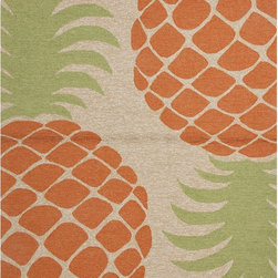 JRCPL - Coastal Red/ Orange Indoor/ Outdoor Rug (2' x 3') - Navigate towards a fresh new approach with this indoor-outdoor rug. This bold rug takes its styling cues from the ruggedly chic aesthetic of a casual seaside lifestyle.