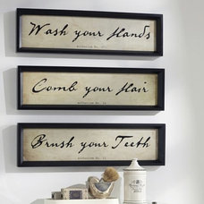 Traditional Prints And Posters by Pottery Barn