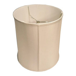 Home Concept - Egg Shell Shantung Drum Lampshade 14x16x17 - Why Upgrade to Home Concept Signature Shades?