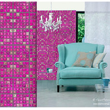 Eclectic Wallpaper by Casart Coverings