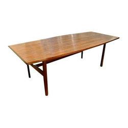 Jens Risom Danish Modern Dining Table -