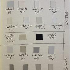 House / Designer's favorite whites, neutrals & grays. Designer Tricia Foley's Be