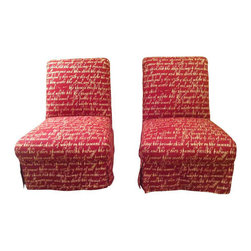 Vintage Reproduction French Slipper Chairs - $2,000 Est. Retail - $1,400 on Chai -