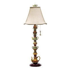 Dimond Lighting - 91-253-LED Tea Service Candlestick Table Lamp - Traditional Table Lamp from the Tea Service Candlestick Collection by Dimond Lighting.