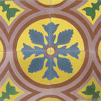 McNay Flower - 8x8 Cement Tile