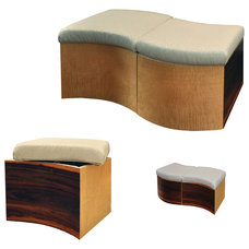 contemporary ottomans and cubes by Immersion Design