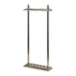 """IMAX - Debonair Walking Stick Stand - Store walking sticks in style with this chrome-look stand Item Dimensions: (28""""h x 12.75""""w x 4.25"""")"""
