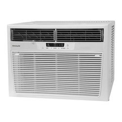 Frigidaire - Frigidaire 25000-BTU Heat/ Cool Window Air Conditioner with Remote (Refurbished) - Keep your home at the ideal temperature with this window air conditioner and heating unit. With a 9.4 energy efficiency ratio, 1,672-square foot cooling area, 24-hour timer and remote control, this compact unit is convenient for any medium space.