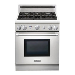 "Thermador 30"" Pro Harmony Dual Fuel Range, Stainless Steel 