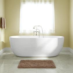 Boyce Acrylic Tub - Treat yourself to a luxurious bath in the Boyce Acrylic Tub.