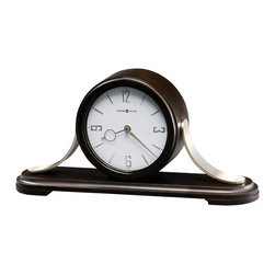 Howard Miller - Howard Miller Black Coffee with Metal Triple - Chime Mantel Clock | Callahan - 635159 Callahan