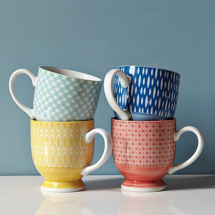 Eclectic Mugs by West Elm