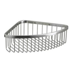 KOHLER - KOHLER K-1897-S Large Shower Basket in Polished Stainless - KOHLER K-1897-S Large Shower Basket in Polished Stainless