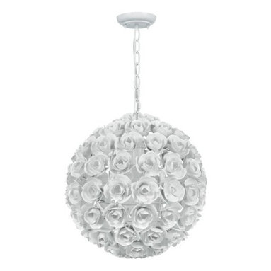 Crystorama Lighting Group - Crystorama Lighting Group 537 Cypress 1 Light Globe Chandelier with Wrought Iron - Features: