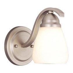Vaxcel Lighting - Vaxcel Lighting VL36481 Inns Brook 1 Light Bathroom Sconce - Features: