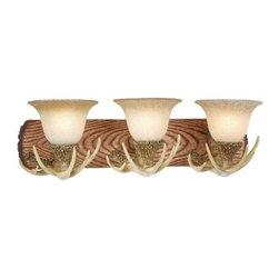 Vaxcel Lighting - Vaxcel Lighting VL33023 Lodge 3 Light Vanity Light - Features: