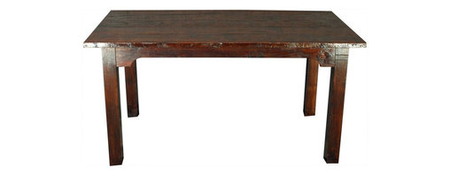 EuroLux Home - French Country Farm Table Consigned Antique New - Product Details