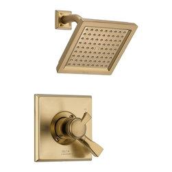 Delta Faucet Company - Delta T17251-CZ Dryden Monitor 17 Series Shower Trim, Champagne Bronze - Delta T17251-CZ Dryden Monitor 17 Series Shower Trim, Champagne Bronze
