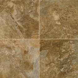 Allegheny Slate - Bronze Age - Alterna Reserve Luxury Vinyl Armstrong Flooring - Armstrong World Industries, Inc.