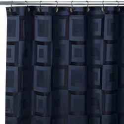 Croscill - Hotel White Fabric Shower Curtain Liner - The Hotel liner is the ultimate in fabric shower liners. Liner is mildew resistant.