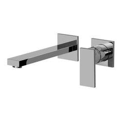 Graff - Graff - Solar Wall-Mounted Lavatory Faucet  -G-3736-LM31W-PC - w/Single Handle