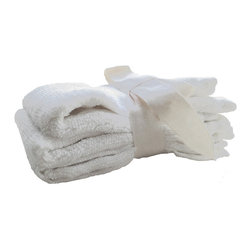 SHOO-FOO - Bundle of 3 Bamboo Cosmetic Washcloths, Natural Creamy Off-White, No Dye, 3 Sets - Make-up artists love these little'wash cloths'made of 100% organically grown bamboo fibers, at 500gr sq/meter (gsm). As a set of 3, you'll won't need to worry about running out of something soft, gentle and eco-friendly to wipe your face with as you wash off cosmetics or just a hard day's work.