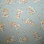 "SheetWorld - SheetWorld Fitted Oval Crib Sheet (Stokke Sleepi) - Angels Blue - Made in USA - This luxurious 100% cotton ""flannel"" oval crib (stokke sleepi) sheet is made of the highest quality fabric that's ""double napped"". That means these sheets are the softest and most durable. Sheets are made with deep pockets and are elasticized around the entire edge which prevents it from slipping off the mattress, thereby keeping your baby safe. These sheets are so durable that they will last all through your baby's growing years. We're called sheetworld because we produce the highest grade sheets on the market today. Features an adorable angel print on a blue background. Size: 26 x 47."