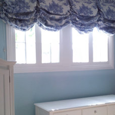 Traditional Roman Shades by P&D Window Fashions