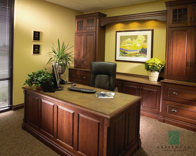 traditional home office by Crestwood, Inc