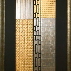 Paragon Decor - Atori I Artwork - Exclusive Hand Pulled Foil Embossed Collages