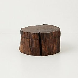 """Anthropologie - Handcrafted Teakwood Jewelry Box - Teak woodLarge: 2.75""""L, 6.25""""WSmall: 2.75""""L, 4.75""""WImported"""