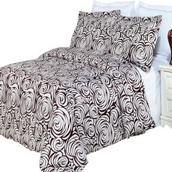 Bed Linens - Tustin Printed Multi-Piece Duvet Set Full/ Queen 3PC Duvet Set - Enjoy the comfort and Softness of 100% Egyptian cotton bedding with 300 Thread count fiber reactive prints.*100% Egyptian cotton *300 Thread count *Reactive Print, lasts longer and looks like real live pictures.