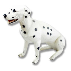 Orlandi Statuary - Spot the Dalmatian Garden Statue Multicolor - F6758DALMATION - Shop for Statues and Sculptures from Hayneedle.com! Honor your love for Dalmatians with this playful Spot the Dalmatian Garden Statue in your garden. Cast in a fiberglass resin time-hardened and finished with a hand-applied after-coating this statue is suitable to be placed outside in all seasons. This charming pup is realistically sculpted and features an almost smiling presence. Beautifully capturing the floppy ears and kinetic energy of these wonderful companions this statue is a marvelous piece of craftsmanship.About Orlandi StatuaryBorn in 1911 when Egisto Orlandi traveled from Lucca Italy to Chicago Illinois Orlandi Statuary quickly set the standard for excellence in their industry. Egisto took great pride in his craft and reputation and which is why artists interior designers and museums relied upon the careful details and impeccable quality he demanded. Over the years they've evolved into a company supplying more than statuary. Orlandi's many collections today include fiber stone for the garden religious statuary fountains columns and pedestals. Their factory and showroom are still proudly located in Chicago where after 100 years they remain an industry icon.