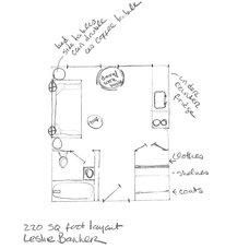 Floor Plan by Leslie Banker