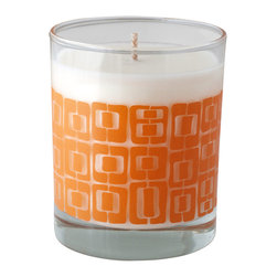 Crash - Zest Fragranced With Lemon Verbena Candle - Modern design and fragrance in a timeless product. Experience functional art in your home, exclusively from Crash. This candle is fragranced with Lemon Verbena.