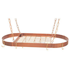 traditional pot racks by Kitchen Wine and Home